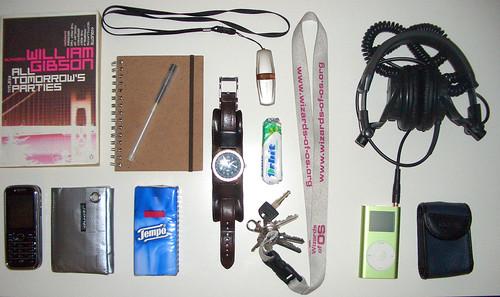 Muji Pens and my bag