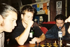 Playing Chess and Drinking Wine