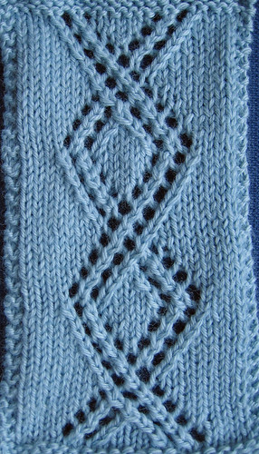 re-crossing or wave cable twist