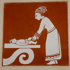 mayan changing table