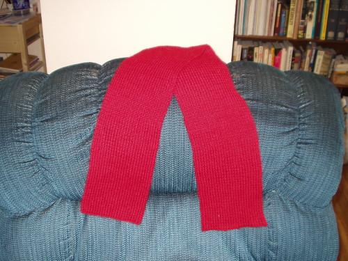 Dad's Christmas scarf