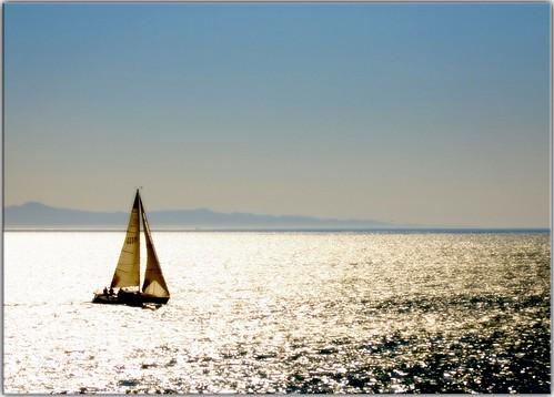 Kate Fontanella loves sailing