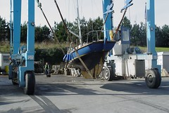 A test for the antifouling