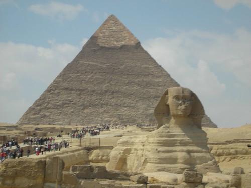 Pyramid & Sphinx