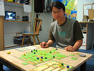 a Game of Carcassonne