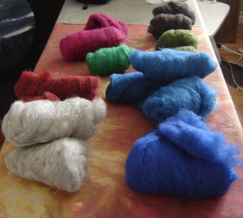 Felting stuff
