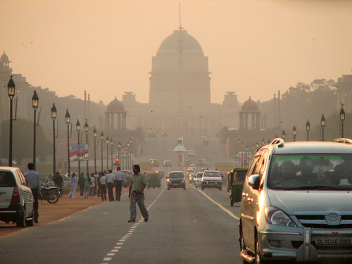 Parliament Buildings along the Rajpath