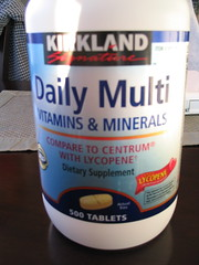 My daily vitamins