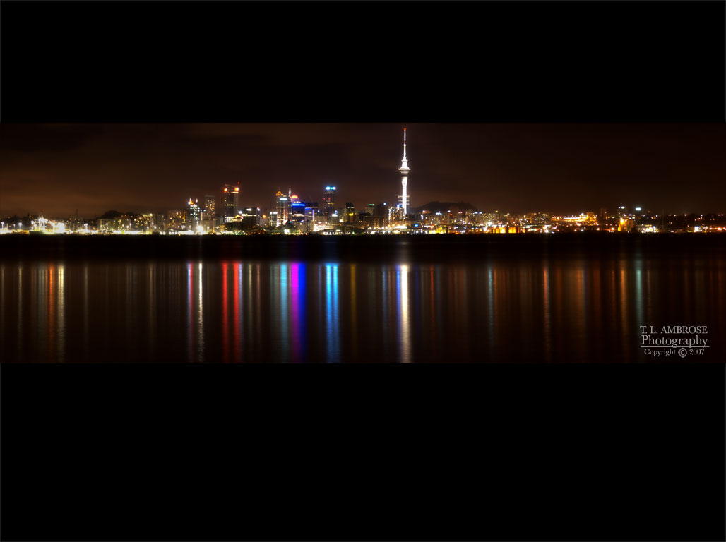 Auckland City Lights