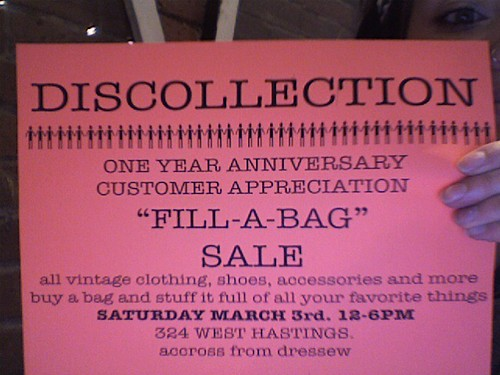 big sale at discollection