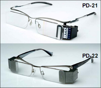 Lumivision media glasses