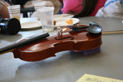 Hyla's violin