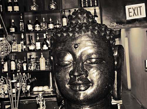Golden Drunken Buddha