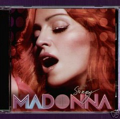 MADONNA Sorry 2005 US Maxi CD Single