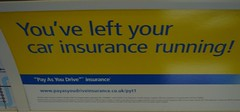 Ad for Pay-as-you-drive car insurance
