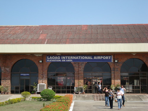 image of the Laoag airport