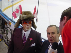 Don Cherry and Ron Mclean at 2002