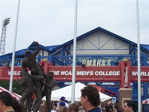Rosenblatt Stadium Omaha by Lisas Lounge.