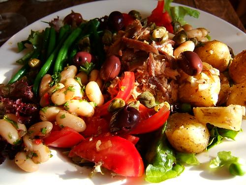Salad Nicoise by WordRidden, on Flickr