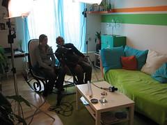 Kamerateam beim Vistascout