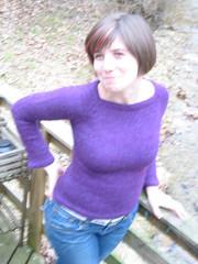HG sweater model