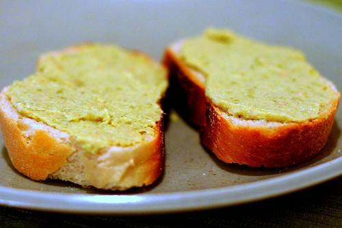 green crostini
