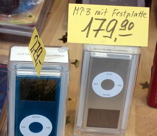 Apple iPod Nano mit Festplatte