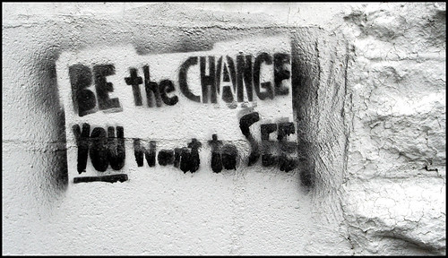 #32 be the change by the8rgrl