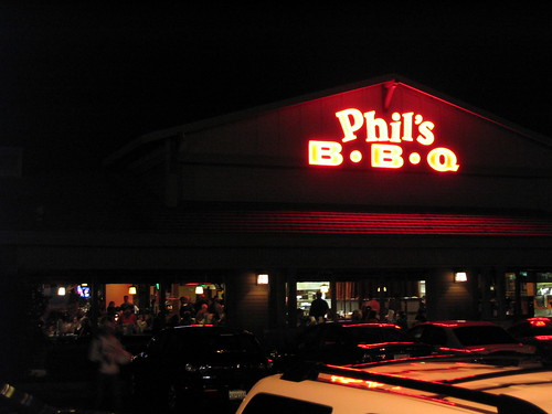 The new Phil's BBQ on Sports Area