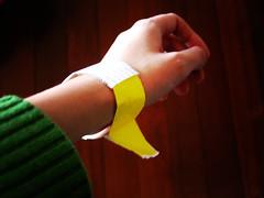 31 days - 31 photos: Day 13 - Emergency room bracelet