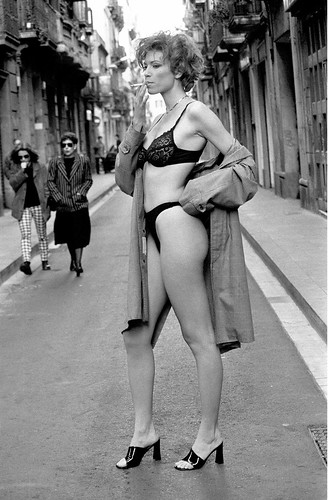 Barcelona Street Girl