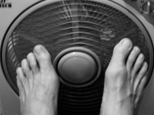 365.008: Cooling My Toes