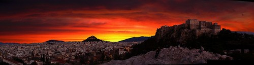 Athens: Sunrise on the City/Acropolis