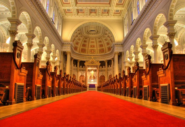 The Red (Sea) Carpet, St. Ignatius Church