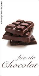 Blog-Event XXII - fou de chocolat