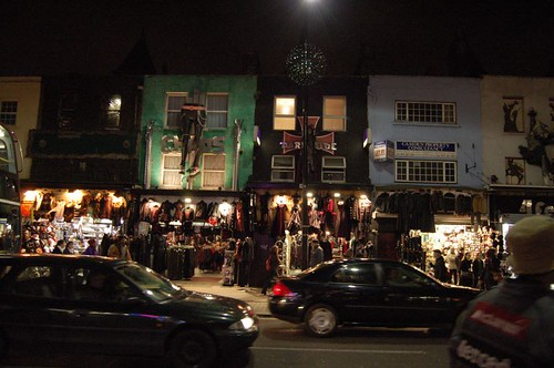 Shoping in camden town