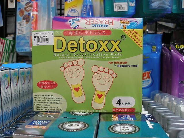 Detoxx pads