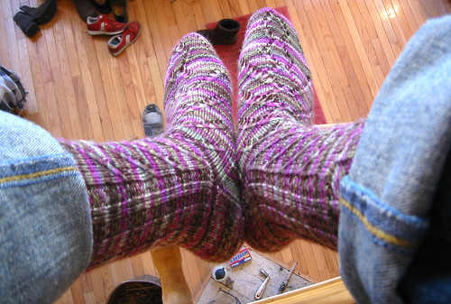 Friday Harbor socks 3