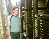 Tim at the datacenter