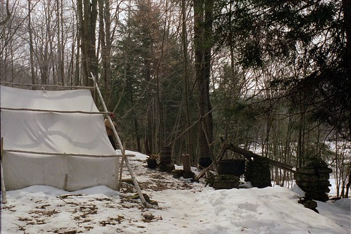 Early Settler Camp_tent