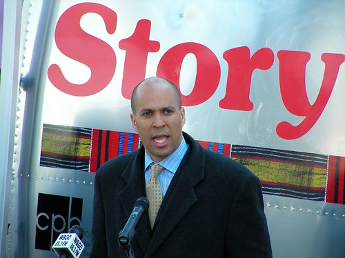 Cory Booker at StoryCorps Griot launch by jsmooth995