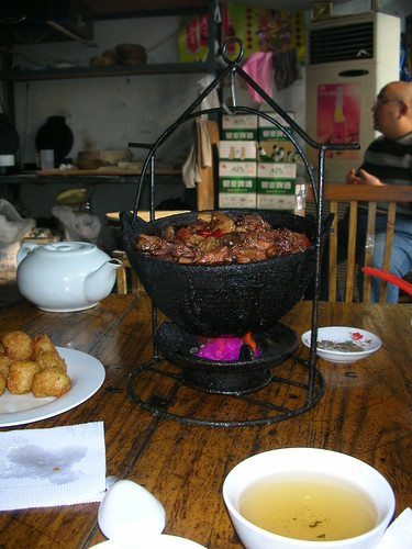Beef Stew in Cauldron