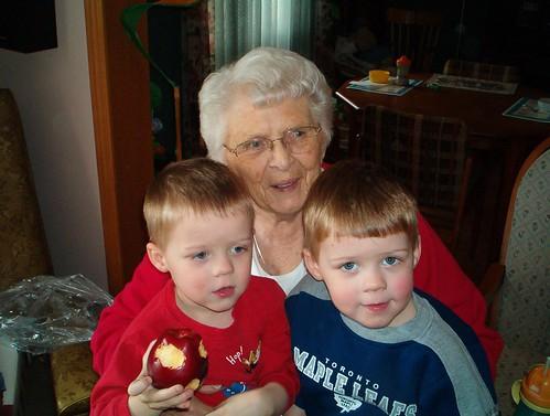 Great Grandma & the twins