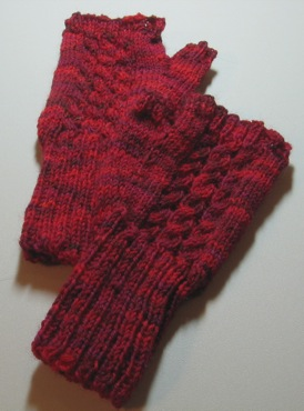 Screaming Red Mitts
