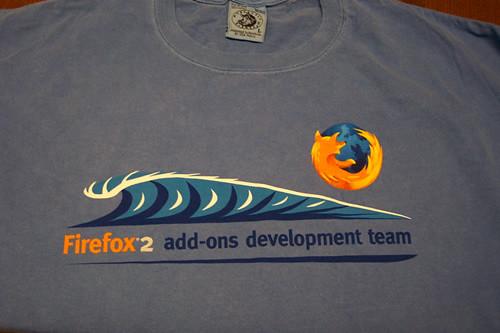 Firefox Shirt Front