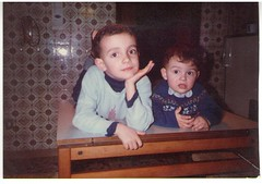 Me and my bro in 1983