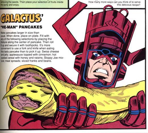Galactus' He-Man Pancakes