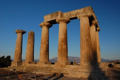 Temple of Apollo -- Ancient Corinth