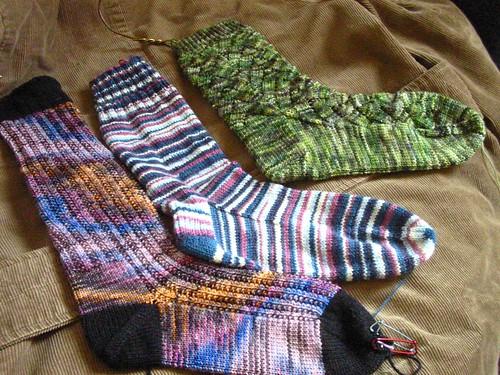 Recently finished socks
