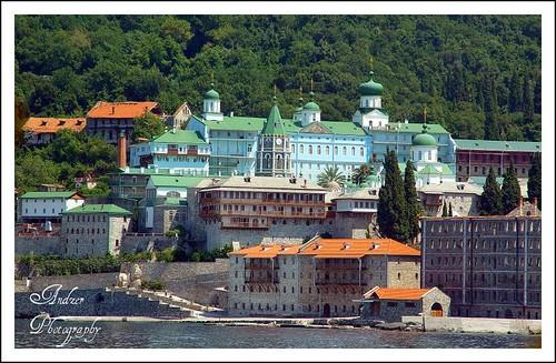 Mount Athos - Panteleimonos (Russian) Monastery